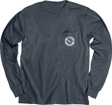 Load image into Gallery viewer, Blue 84 Dyed Ringspun Long Sleeve W/Pocket, Indigo