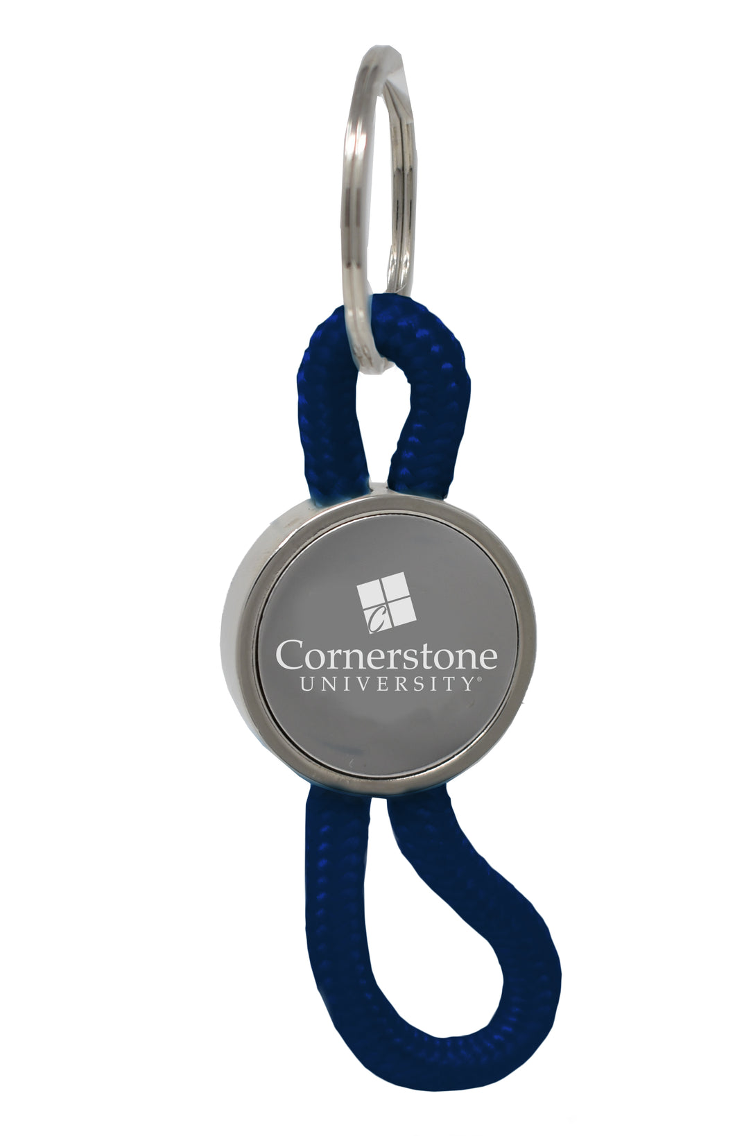 LXG Disc Rope Keychain, Navy