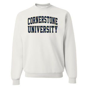OnMission Crew Sweatshirt, White
