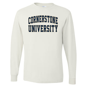 OnMission Long Sleeve Tee, White