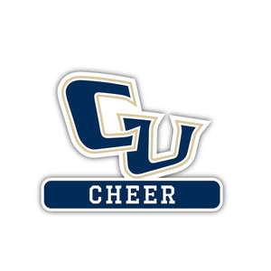 Cornerstone CHEER decal - M17