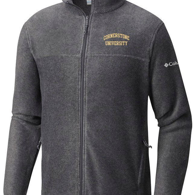 Columbia Men's Flanker Full Zip, Charcoal Heather