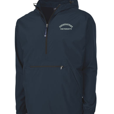 Charles River, Men's Pack-N-Go Pullover, Navy