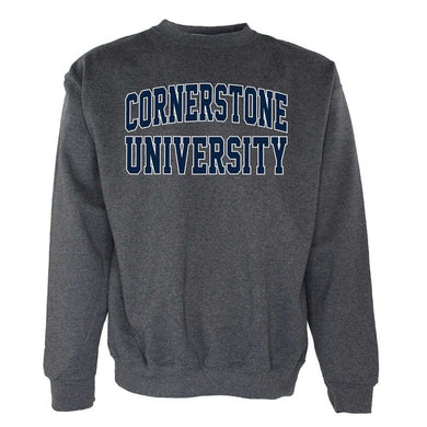 OnMission Crew Sweatshirt, Graphite