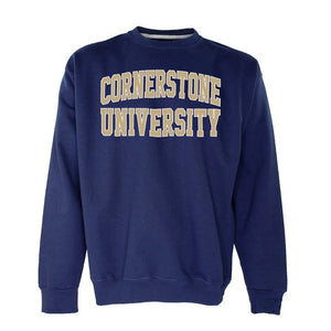 OnMission Crew Sweatshirt, Navy