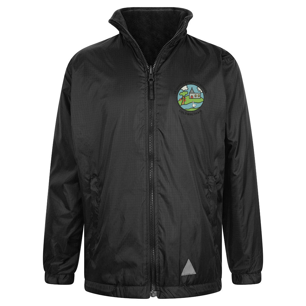 St James School - Reversible Jacket (Showerproof / Fleece)