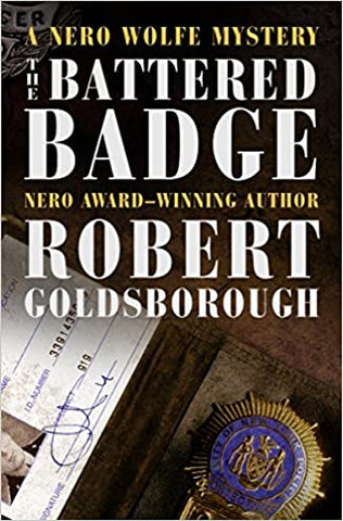 Robert Goldsborough - The Battered Badge