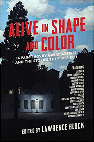 Lawrence Block, ed. - Alive in Shape and Color - Signed