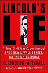 Elizabeth Mitchell - Lincoln's Lie -Signed