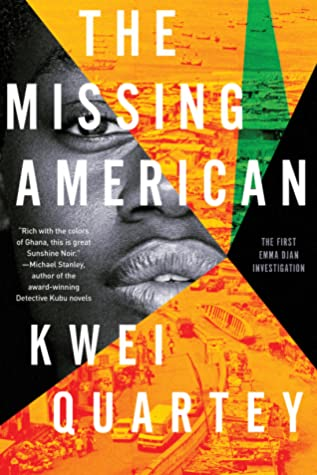 Kwei Quartey - The Missing American - Paperback