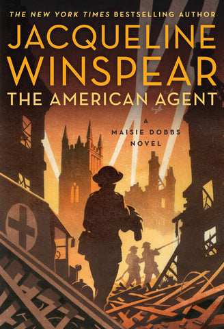 Jacqueline Winspear - The American Agent - Signed