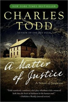 Todd, Charles - A Matter of Justice