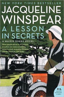 Winspear, Jacqueline - A Lesson in Secrets