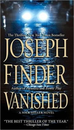 Finder, Joseph - Vanished