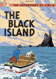 Herge, The Adventures of TinTin, The Black Island