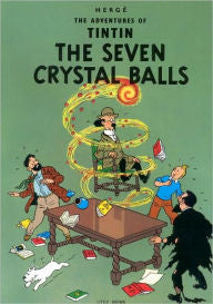 Herge, The Advetures of TinTin, The Seven Crystal Balls