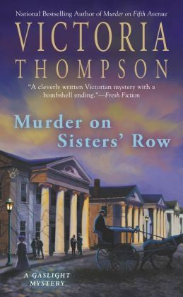 Thompson, Victoria - Murder on Sisters' Row