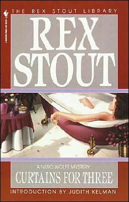 Stout, Rex - Curtains for Three