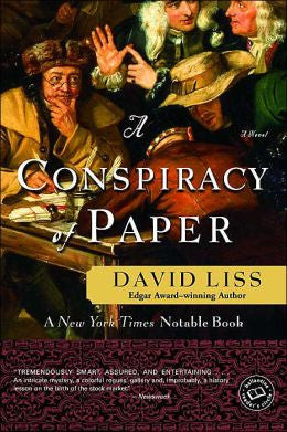 Liss, David - A Conspiracy of Paper