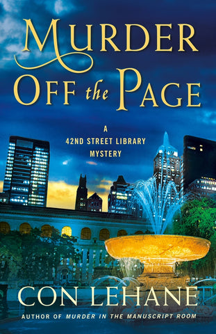 Con Lehane - Murder Off the Page