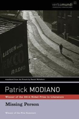 Patrick Modiano - Missing Person