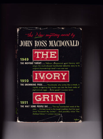Macdonald, John Ross - The Ivory Grin