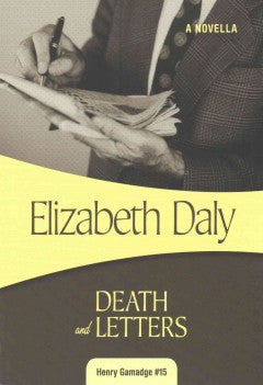 Daly, Elizabeth, Death and Letters