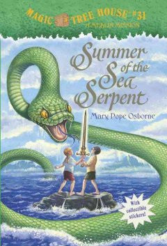 Osborne, Mary Pope, Magic Treehouse #31, Summer of the Sea Serpent