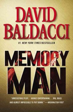 Baldacci, David, Memory Man