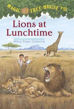 Osborne, Mary Pope, Lions at Lunchtime, Magic Tree House 11