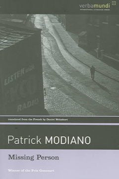 Modiano, Patrick, Missing Person