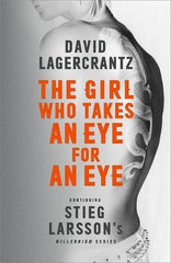 David Lagercrantz - The Girl Who Takes an Eye for an Eye - Signed UK Import
