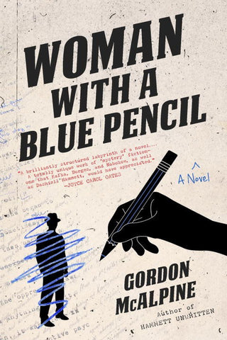 Gordon McAlpine - Woman with a Blue Pencil