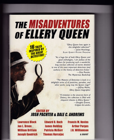 Pachter, Josh & Andrews, Dale C. - The Misadventures of Ellery Queen