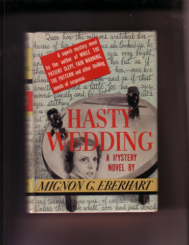 Eberhart, Mignon - Hasty Wedding