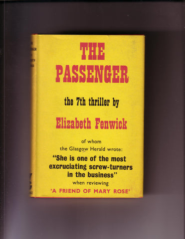 Fenwick, Elizabeth - The Passenger