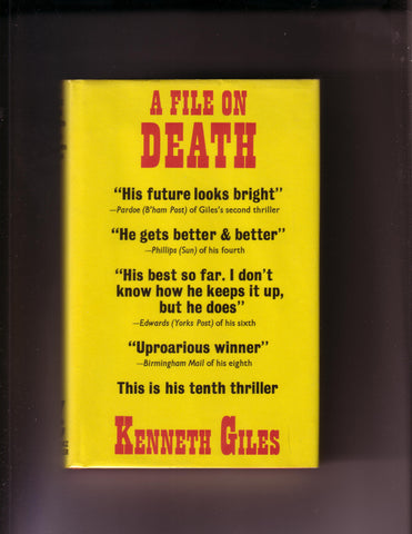 Giles, Kenneth - A File On Death
