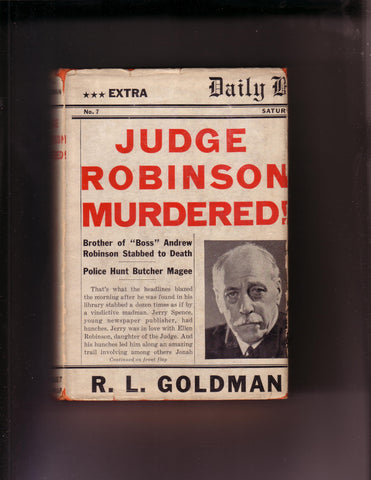Goldman, R.L. - Judge Robinson Murdered!
