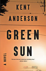 Kent Anderson - Green Sun - Signed