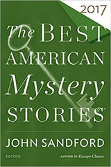John Sandford with Otto Penzler, eds. - Best American Mystery Stories 2017 - Signed