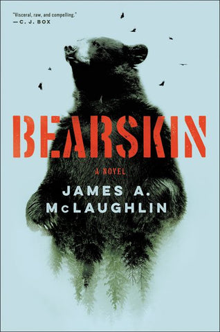 James A. McLaughlin - Bearskin - Signed