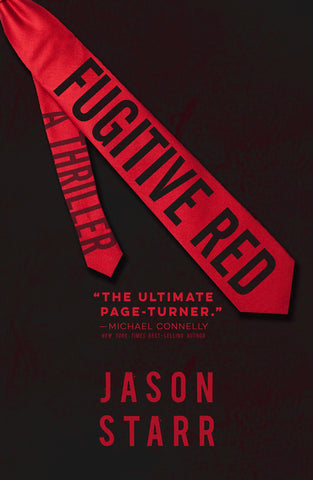 Jason Starr - Fugitive Red - Signed