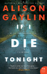 Alison Gaylin - If I Die Tonight - Signed