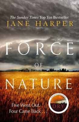 Jane Harper - Force of Nature - Signed UK Limited Edition - SOLD OUT