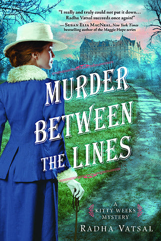 Radha Vatsal - Murder Between the Lines