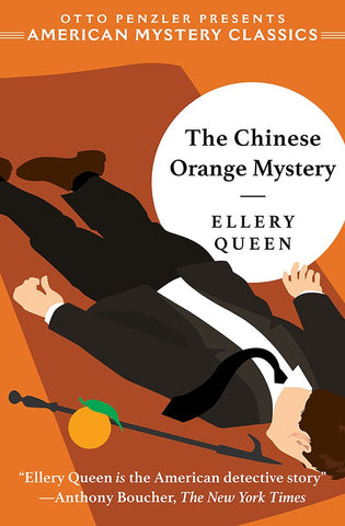 Ellery Queen - The Chinese Orange Mystery