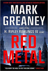 Mark Greaney - Red Metal - Signed