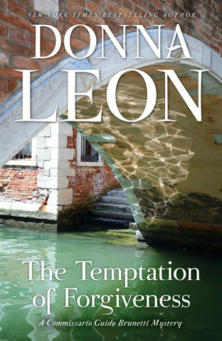 Donna Leon - The Temptation of Forgiveness - Signed