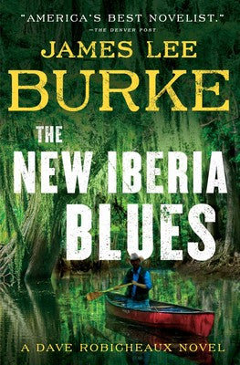 Burke, James Lee - The New Iberia Blues - Signed