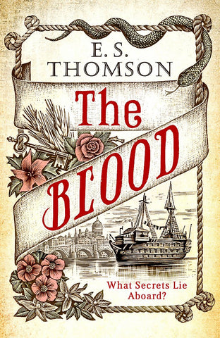 E.S. Thomson - The Blood - Signed UK First Edition
